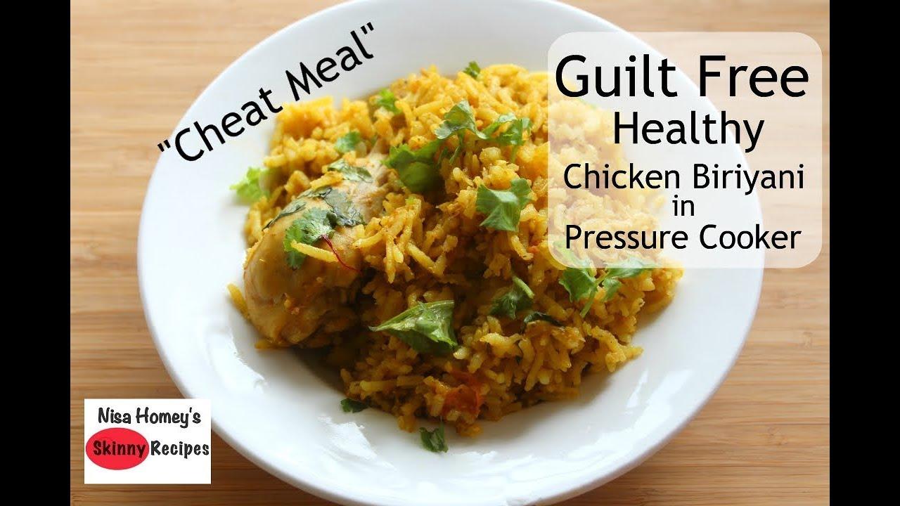 Healthy Guilt Free Chicken Biriyani – Weight Loss Chicken Biriyani – Skinny Recipes For Weight Loss