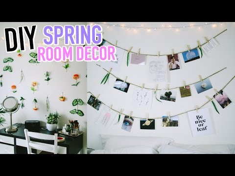 DIY Spring Room Decor 2017!