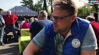 Guido Reil auf der Kirmes in Essen-Dellwig