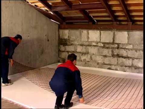 видео: Монтаж водяного теплого пола