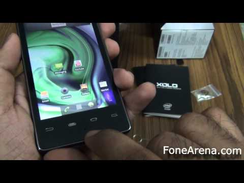 First Unboxing of First Intel Phone - Lava XOLO X900