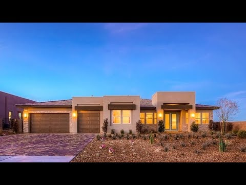 HUGE MyHeaven Contemporary 1-story Las Vegas Emerald Homes Spanish Ranch Estates II