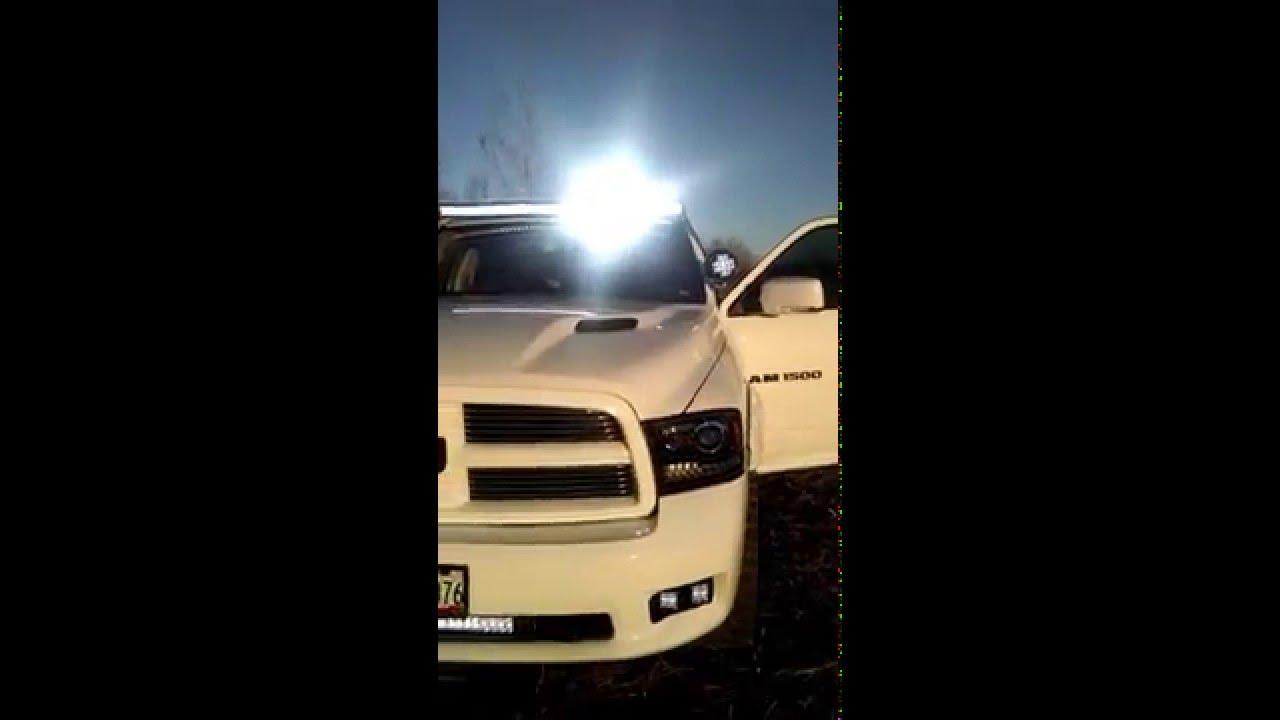 Dodge Ram 1500 Led Light Walk Around Youtube