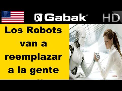 Podes ser reemplazado por un robot muy pronto