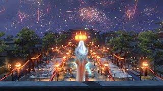 Moonlight Blade Online 天涯明月刀.ol - Happy New Year Village Theme Music