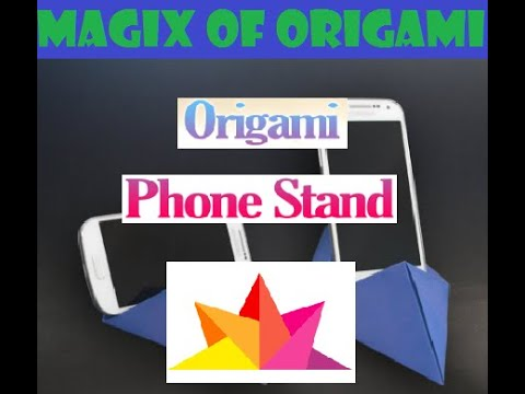 diy---how-to-make-origami-phone-stand-|-horizontal/vertical-mobile-holder-|-easy-craft-|