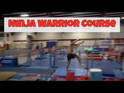 Made my OWN American Ninja Warrior Course
