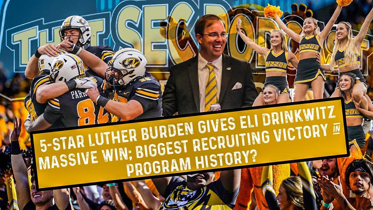 Download 5-star Luther Burden gives Eli Drinkwitz Missouri Tigers biggest commitment in program history