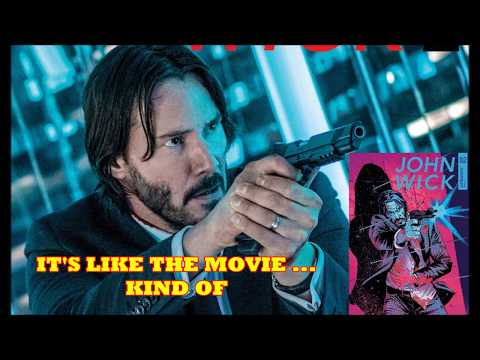 The John Wick Comic Book Builds A World For Assassins To Live In