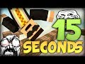 BRAND NEW Minecraft: 15 Seconds -THE BEST PARKOUR CHALLENGE! (Sethbling's new map)