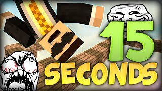 BRAND NEW Minecraft: 15 Seconds -THE BEST PARKOUR CHALLENGE! (Sethbling