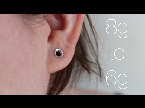Ear Stretch 6 8g To 6g
