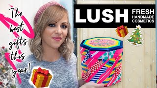 LUSH CHRISTMAS GIFTS UNBOXING - THIS YEAR'S TOP PICKS! LADY WRITES