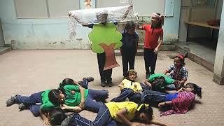 Drama on lesson Flying Together, Class 5 A KV Janjgir