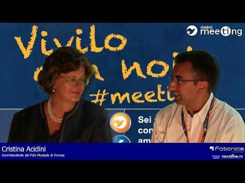 Cristina Acidini - Social Media Interview