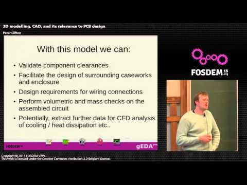 FOSDEM 2015 - Developer Room - Electronic Design Automation - Cad 3D