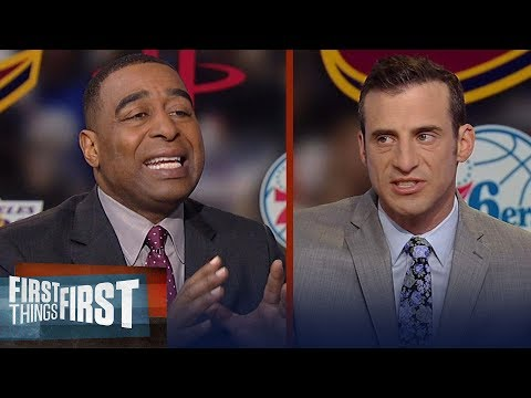 Nike v Adidas: Doug Gottlieb on LeBron's shoe deal factoring into his offseason | FIRST THINGS FIRST