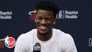 Jimmy Butler's full Heat introductory press conference | NBA on ESPN