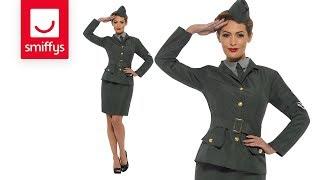 WW2 Army Girl Costume