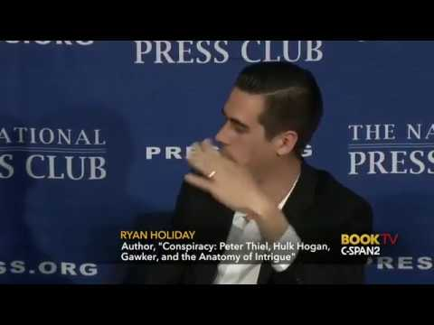 How Peter Thiel Brought Down Gawker - Ryan Holiday