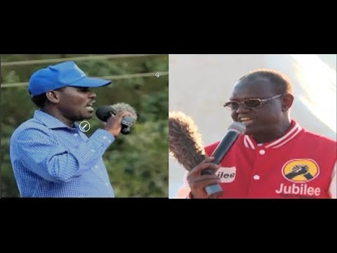 Governor Peter Munya and Senator Kiraitu Murungi in final push for Meru vote