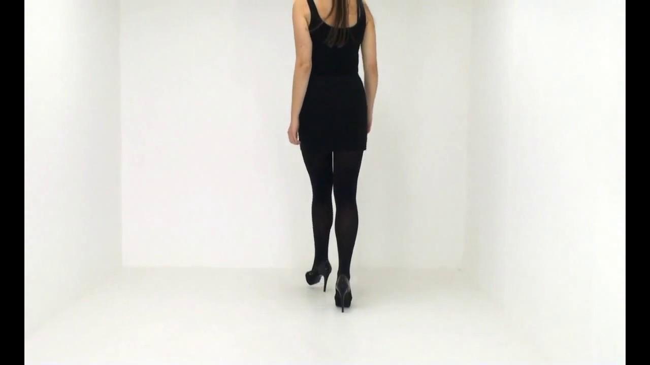 393c29b2b7c UK Tights - Pretty Polly 60 Denier Lustre Opaque Tights - YouTube