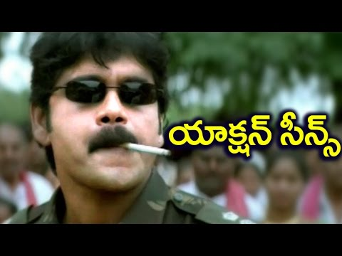 Ninne Premistha Movie Action Scenes | Nagarjuna | Srikanth | Soundarya