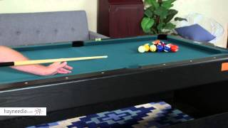 Fat Cat 7 ft. Black Pockey Table - Billiard, Air Hockey & Table Tennis - Product Review Video