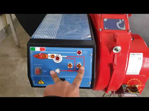 Introduction Of Hot Water Boiler With CIB Unigas SpA Burner | UzTecho Hindi/Urdu