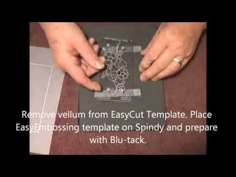 54 PCA-Parchment Craft EasyCut Card Making PART 5