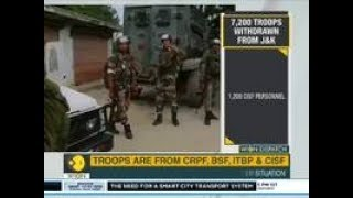 WION Dispatch: 7,200 para troops recalled from J&K, move after security meet on J&K