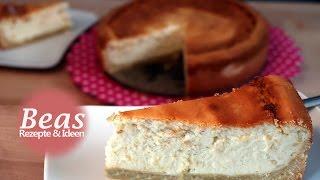 KÄSEKUCHEN mit Boden – Omas Quarkkuchen Rezept Klassiker