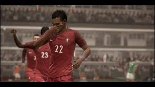 FIFA 18_ Mexico VS Portugal Saudi Arabia World cup 2018