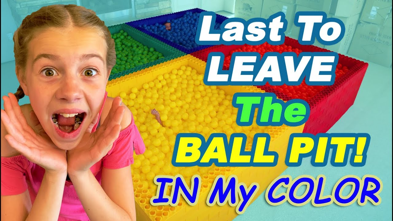 Last To Leave The Ball Pit WINS!