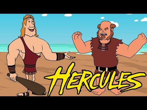 Hercules Cartoon Movie - Animated Stories for Kids - Story of Hercules & the Three Golden Mangoes