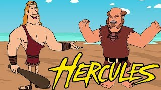 Hercules Cartoon Movie - Animated Stories for Kids - Story of Hercules & the Three Golden Mangoes