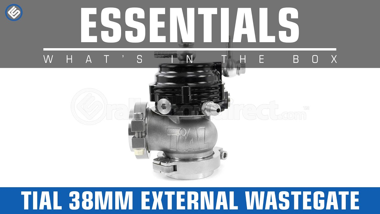 Tial 38mm External Wastegate Whats In The Box Youtube