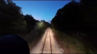 Ultimate Gyralight Locomotive Ride - HD Version - Mars Light
