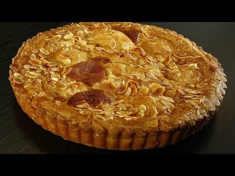 بمكونات-سهلة-♡تارت-اللوز-اموندين♡-كما-في-المحلات-الراقية-#tarte_amandine-#tartelette