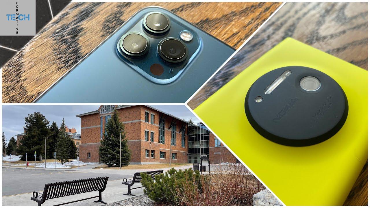 Nokia Lumia 1020 VS iPhone 12 Pro Max | Camera Comparison ...