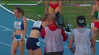 2016 Дарья Вдовиченко, эстафета, финал чемпионата Европы U18 Тбилиси
