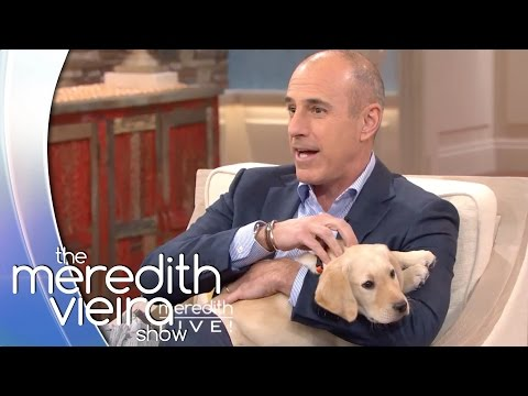 Wrangler The TODAY Show Pup Visits Meredith!   The Meredith Vieira Show