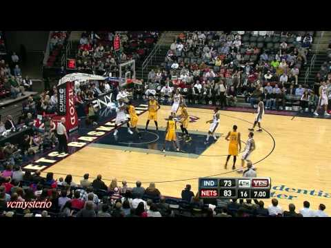 Deron Williams 30pts-9ast vs Pacers (2012.03.28)