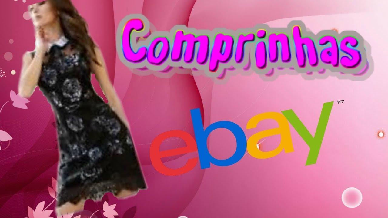 COMPRAS EBAY - PRIMEIRA QUASE UNBOXING. VESTIDO! - YouTube