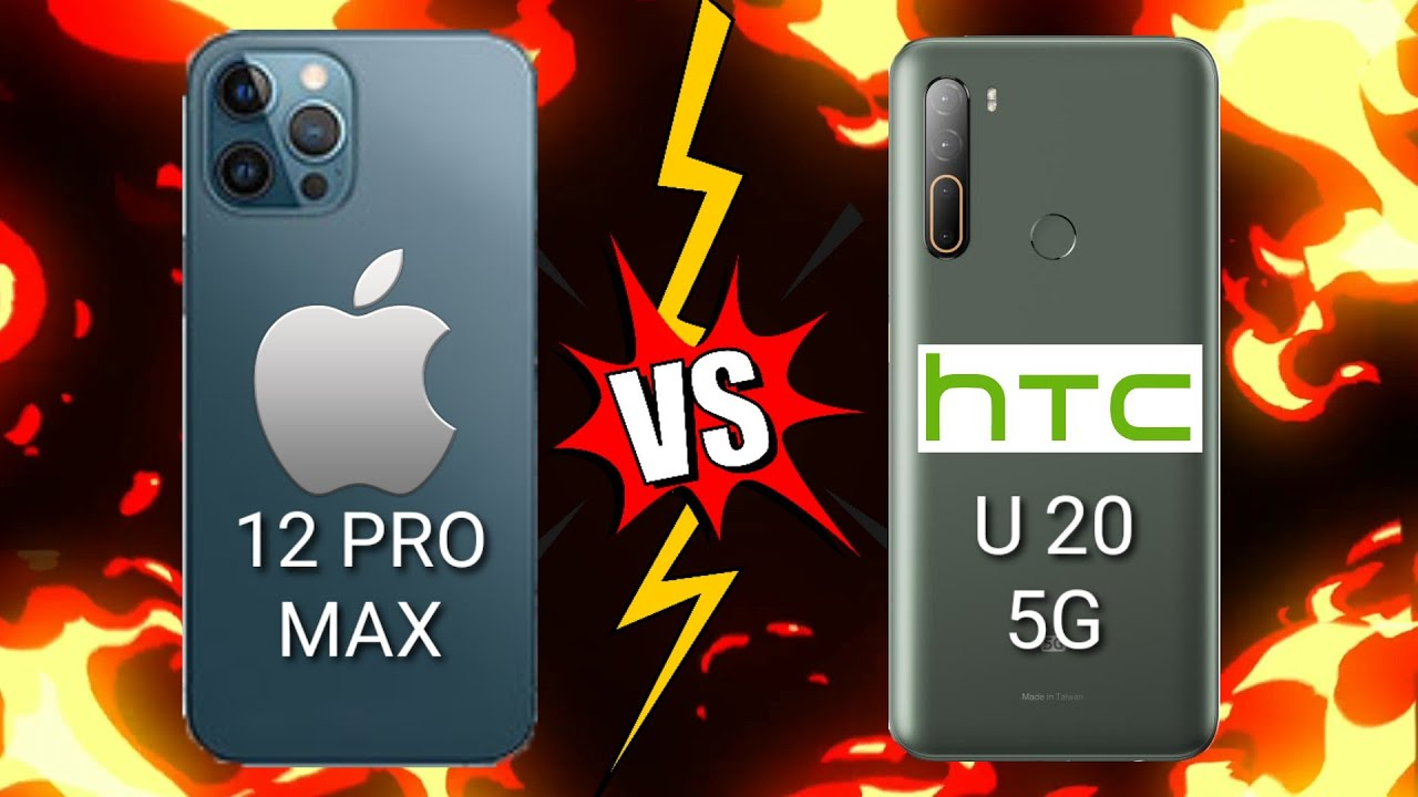 Download IPHONE 12 PRO MAX 5G VS HTC U20 5G Which is BEST?