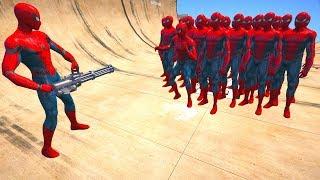 GTA 5 Crazy Ragdolls Spiderman Compilation #5 (Euphoria Physics   Funny Moments)