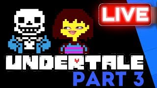 Gem Continues Her Undertale tale! | Stream