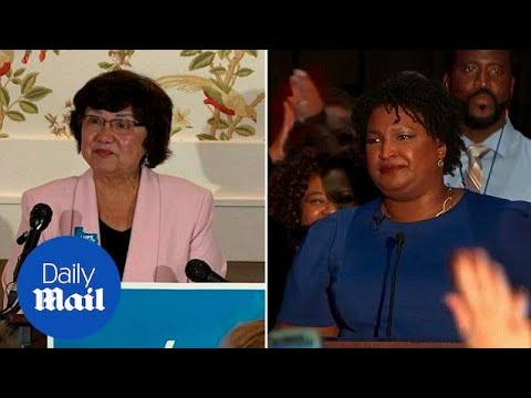 Democrats nominate Stacey Abrams and Stacey Evans for primary fight - Daily Mail