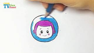 How to draw Buzz in Toys Story