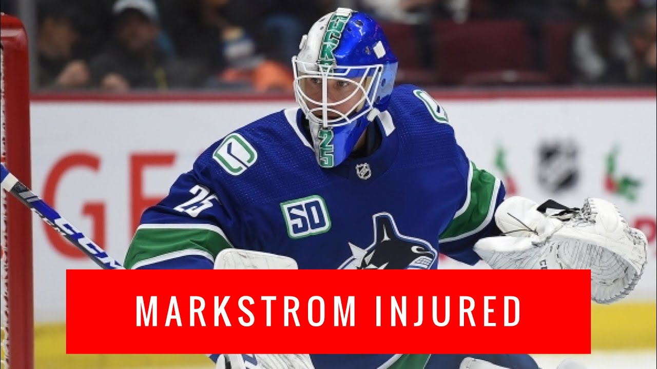 Vancouver Canucks Vlog Jacob Markstrom Injured Trade For Louis Domingue To Back Up Thatcher Demko Youtube